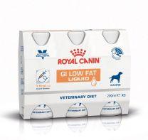 Royal Canin GI Low Fat Liquid Dog 3 x 200 ml