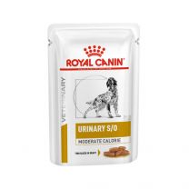 Royal Canin Urinary Dog S/O Moderate Calory natvoer 12 x 100 gram zakjes
