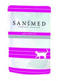 Sanimed Cat Anti Struvite - 12 x 100 gram pouches