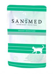 Sanimed Cat Weight Reduction - 12 x 100 gram pouches