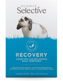 Science Selective Recovery Vloeibare Voeding - sachets 10 x 20 gram