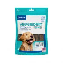 VeggieDent kauwstrips hond (> 30 kg) 15 stuks