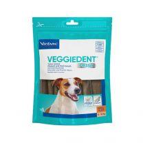 VeggieDent kauwstrips hond (5-10 kg) 15 stuks