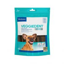 VeggieDent kauwstrips hond (< 5kg) 15 stuks