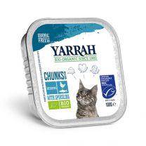 Yarrah Kat Chunks Kip/Vis 16 x 100 gram