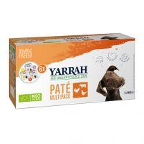 Yarrah Hond Multipack 4 smaken 6 x 150 gram