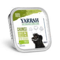 Yarrah Hond Chunks Kip/Groente 12 x 150 gram