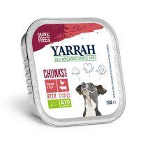 Yarrah Hond Chunks Rund 12 x 150 gram