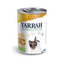 Yarrah Bio Kattenvoer Paté met kip - 12 x 400 gram