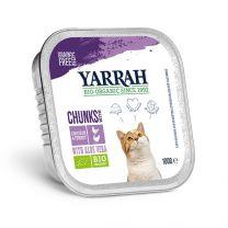 Yarrah Kat Chunks Kip/Kalkoen 16 x 100 gram