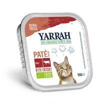 Yarrah Kat Paté Rund Bio 16 x 100 gram