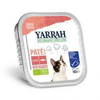 Yarrah Kat Paté Zalm Bio 16 x 100 gram
